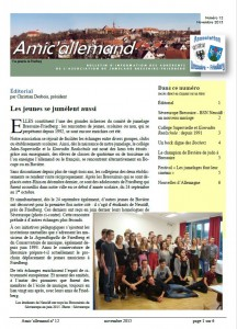 Amic'allemand 12 Une