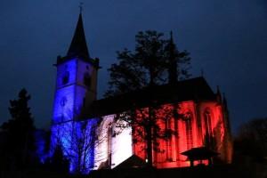 L'église Saint-Martin à Lorch, ville jumelle de Saint-Benoît et Ligugé